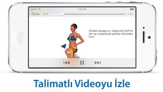 Bacaklar için Antrenman ve Egzersiz Ekran Görüntüleri - 4
