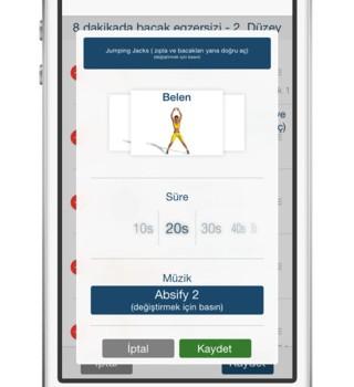 Bacaklar için Antrenman ve Egzersiz Ekran Görüntüleri - 2