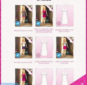 Barbie Fashion Design Maker Ekran Görüntüleri - 2