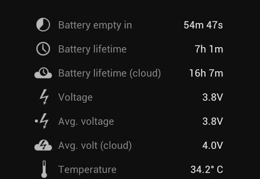 Battery Stats Plus Ekran Görüntüleri - 3