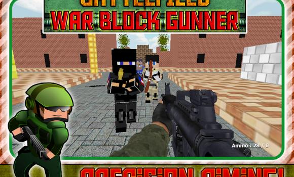 Battlefield War Block Gunner Ekran Görüntüleri - 3