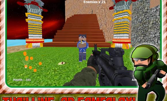 Battlefield War Block Gunner Ekran Görüntüleri - 2