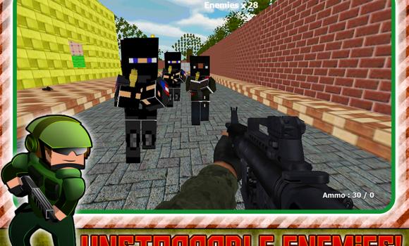 Battlefield War Block Gunner Ekran Görüntüleri - 1