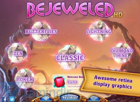 Bejeweled HD Ekran Görüntüleri - 2