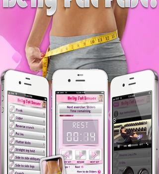Belly Fat Workout Ekran Görüntüleri - 1