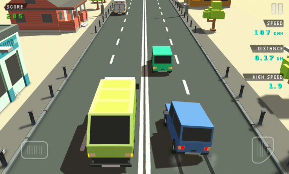 Blocky Traffic Racer Ekran Görüntüleri - 3