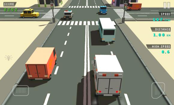Blocky Traffic Racer Ekran Görüntüleri - 4