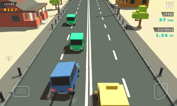 Blocky Traffic Racer Ekran Görüntüleri - 1