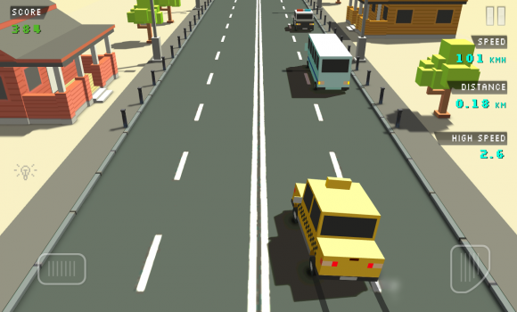 Blocky Traffic Racer Ekran Görüntüleri - 2