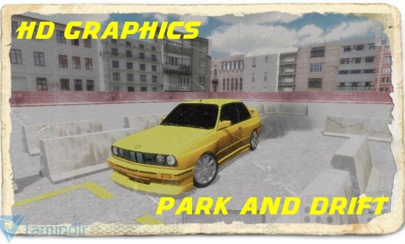 Bmw E30 Drift Parking 3D Ekran Görüntüleri - 3