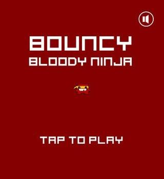 Bouncy Bloody Ninja Ekran Görüntüleri - 3