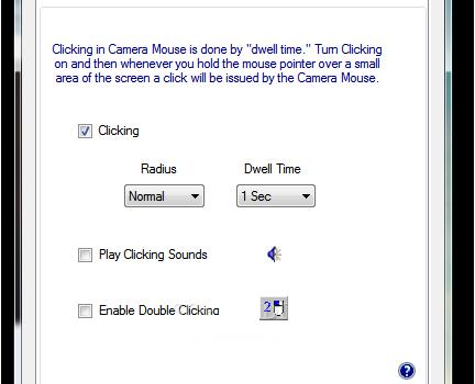 Camera Mouse Ekran Görüntüleri - 1