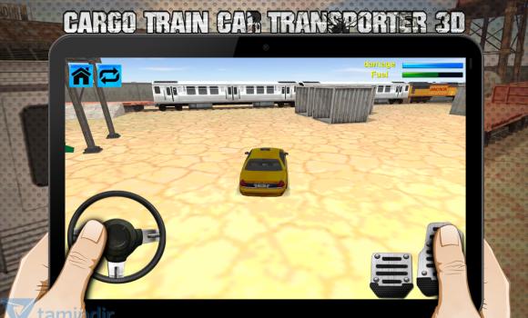 Cargo Train Car Transporter 3D Ekran Görüntüleri - 3