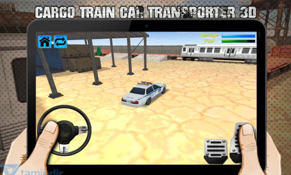 Cargo Train Car Transporter 3D Ekran Görüntüleri - 2