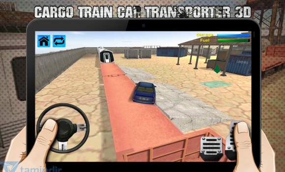 Cargo Train Car Transporter 3D Ekran Görüntüleri - 1