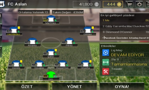 Championship Manager: All-Stars Ekran Görüntüleri - 3