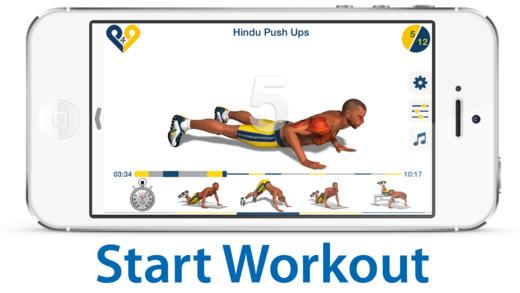 Chest Workout Ekran Görüntüleri - 3