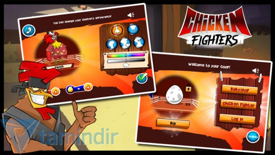 Chicken Fighters Ekran Görüntüleri - 1