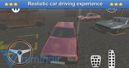 Classic Car Parking 3D Ekran Görüntüleri - 3