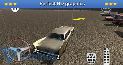 Classic Car Parking 3D Ekran Görüntüleri - 2