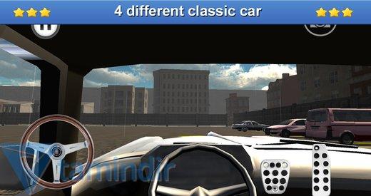 Classic Car Parking 3D Ekran Görüntüleri - 1