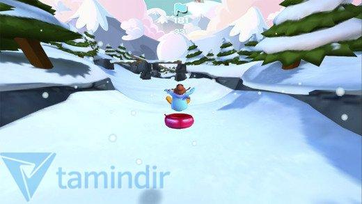 Club Penguin Sled Racer Ekran Görüntüleri - 4