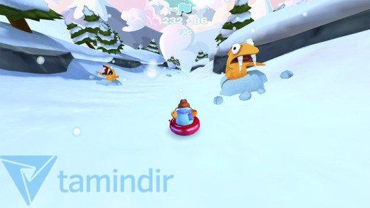 Club Penguin Sled Racer Ekran Görüntüleri - 2