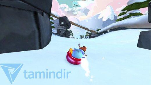 Club Penguin Sled Racer Ekran Görüntüleri - 1