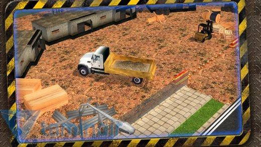 Construction Trucker 3D Sim Ekran Görüntüleri - 2