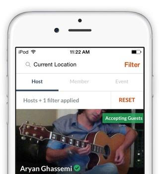 Couchsurfing Travel App Ekran Görüntüleri - 3