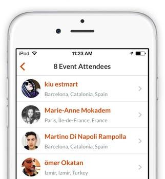 Couchsurfing Travel App Ekran Görüntüleri - 1