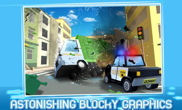 Craft Cop Pursuit Blocky Thief Ekran Görüntüleri - 2