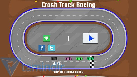Crash Track Racing! Ekran Görüntüleri - 3