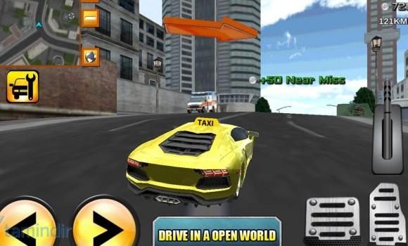 Crazy Driver Taxi Duty 3D Ekran Görüntüleri - 3