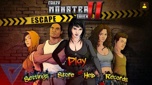 Crazy Monster Truck - Escape Ekran Görüntüleri - 3