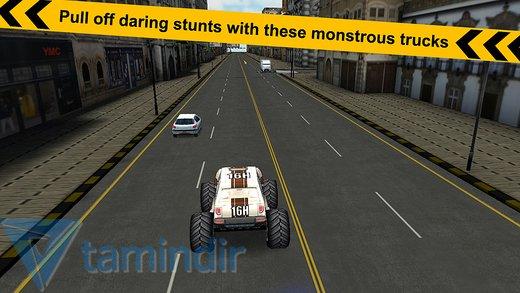 Crazy Monster Truck - Escape Ekran Görüntüleri - 1