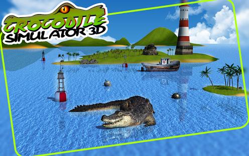Crocodile Simulator 3D Ekran Görüntüleri - 4