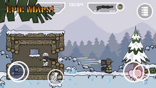 Doodle Army 2 Ekran Görüntüleri - 2