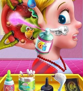 Ear Doctor X : Super Clinic Ekran Görüntüleri - 3