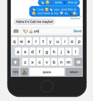 Emojimo Keyboard Ekran Görüntüleri - 3