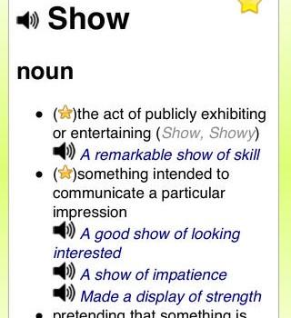 English Dictionary Ekran Görüntüleri - 5