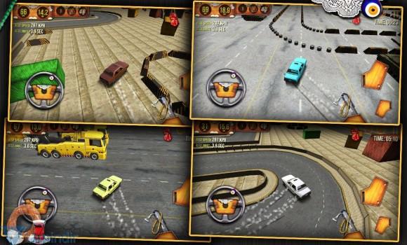 Eski Model Araba Simulatörü 3D Ekran Görüntüleri - 2