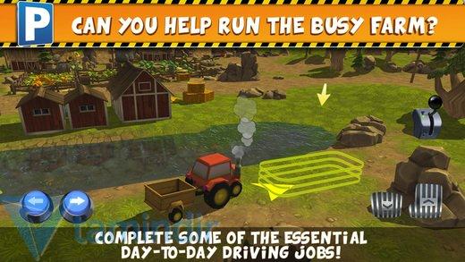 Farm Truck Car Parking Simulator Ekran Görüntüleri - 2