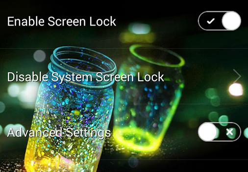 Fireflies Lockscreen Ekran Görüntüleri - 3