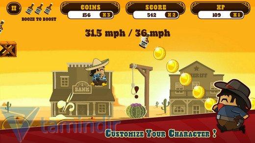 Firewater: Cowboy Dash Ekran Görüntüleri - 1