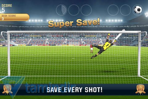 Flick Kick Goalkeeper Ekran Görüntüleri - 4