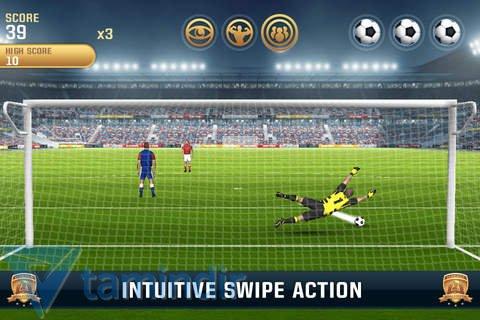 Flick Kick Goalkeeper Ekran Görüntüleri - 1