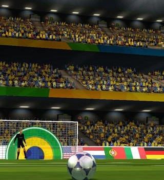 Flick Soccer Brazil Ekran Görüntüleri - 1