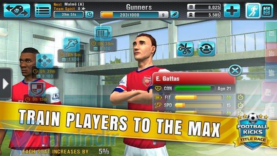 Football Kicks: Title Race Ekran Görüntüleri - 1