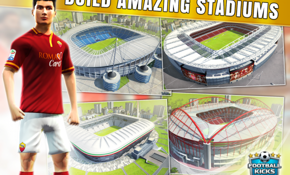Football Kicks: Title Race Ekran Görüntüleri - 2